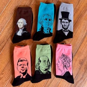 NEW Men's 6pc Sock Set